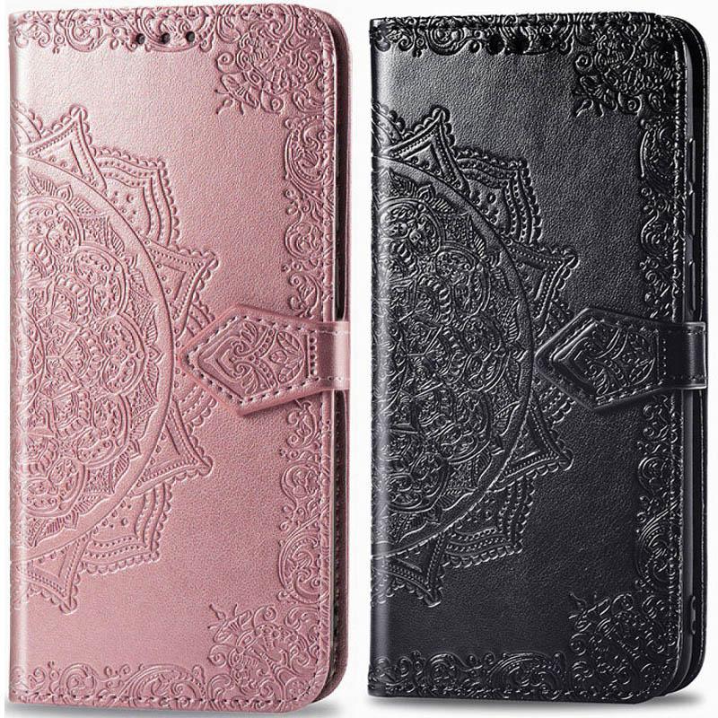 Кожаный чехол (книжка) Art Case с визитницей для Realme C15 / C12