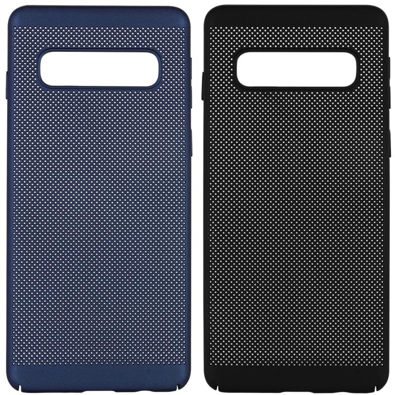 Ультратонкий дышащий чехол Grid case для Samsung Galaxy S10+