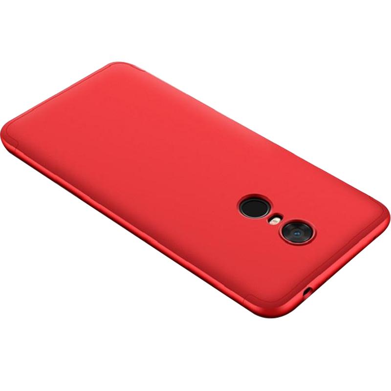 Пластиковая накладка GKK LikGus 360 градусов (opp) для Xiaomi Redmi 5 Plus / Redmi Note 5 (Single Ca