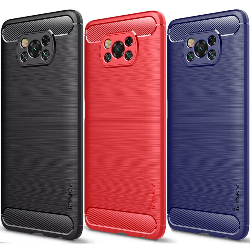TPU чехол iPaky Slim Series для Xiaomi Poco X3 NFC / Poco X3 Pro
