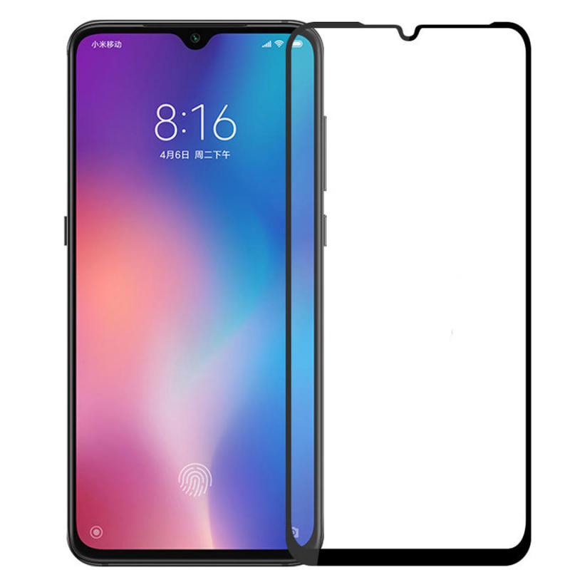 Защитное цветное 3D 9H стекло Mocolo (full glue) для Xiaomi Mi 9 SE