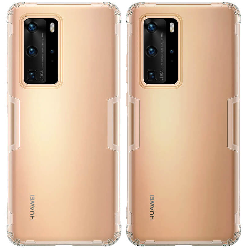 TPU чехол Nillkin Nature Series для Huawei P40 Pro
