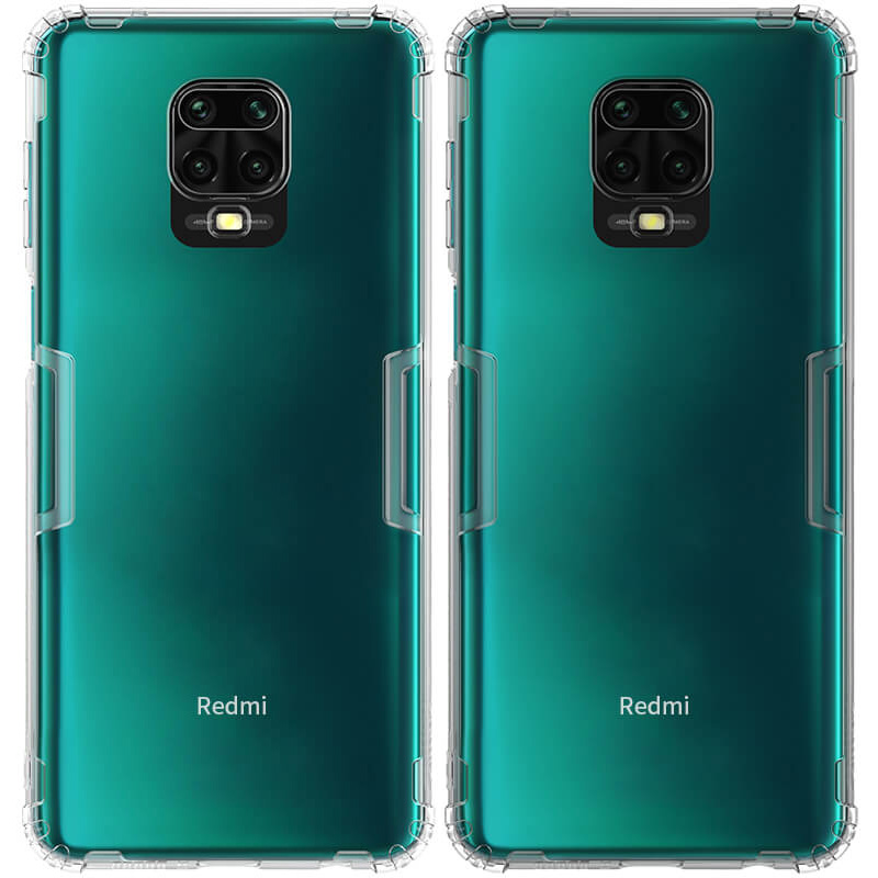 TPU чехол Nillkin Nature Series для Xiaomi Redmi Note 9s / Note 9 Pro / Note 9 Pro Max