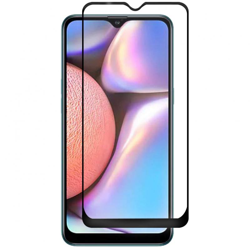 Защитное цветное стекло Mocoson 5D (full glue) для Samsung Galaxy A10 / A10s / M10