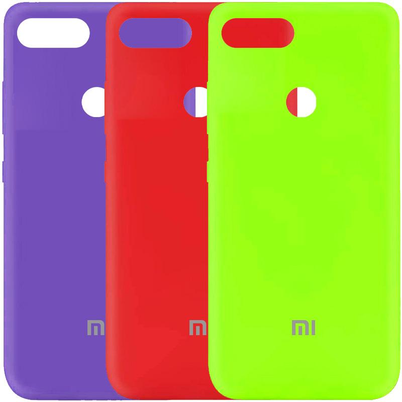 Чехол Silicone Cover My Color Full Protective (A) для Xiaomi Mi 8 Lite / Mi 8 Youth (Mi 8X)