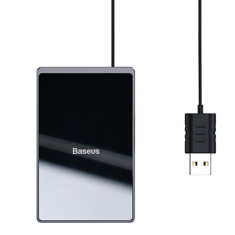 Беспроводное зарядное устройство Baseus Card Ultra-Thin 15W (with USB cable 1m)