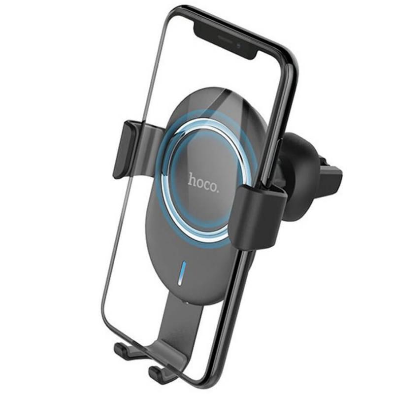 Автодержатель с БЗУ HOCO CW17 Wireless Charger