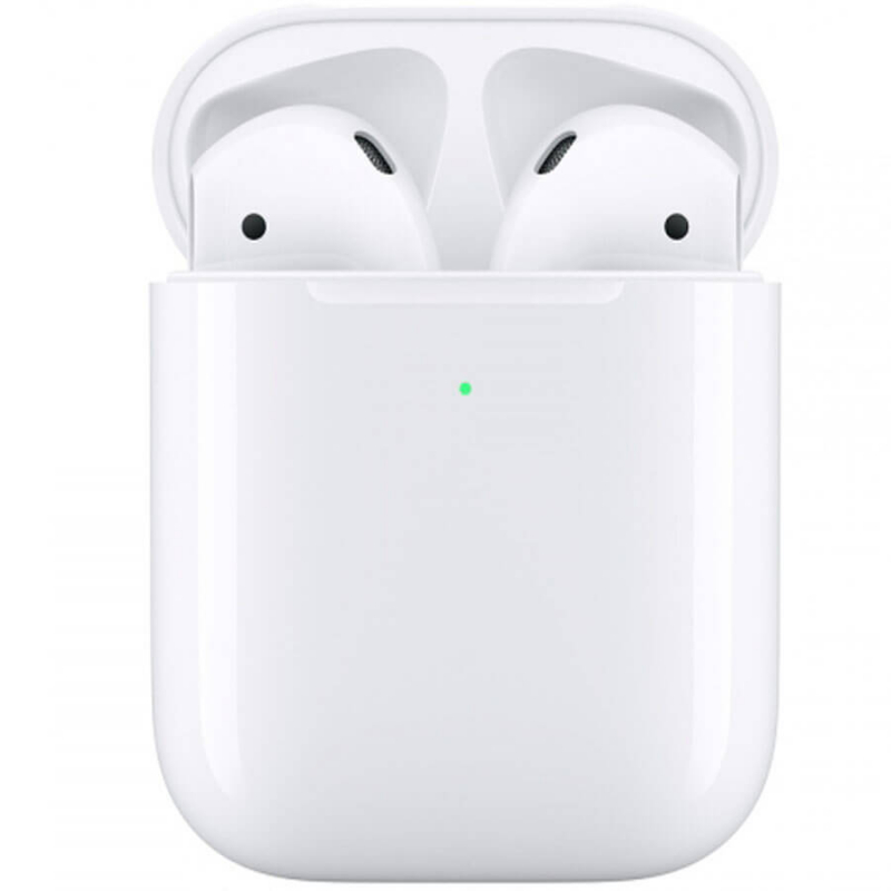 Беспроводные наушники Apple AirPods 2 with Wireless Charging Case (MRXJ2)