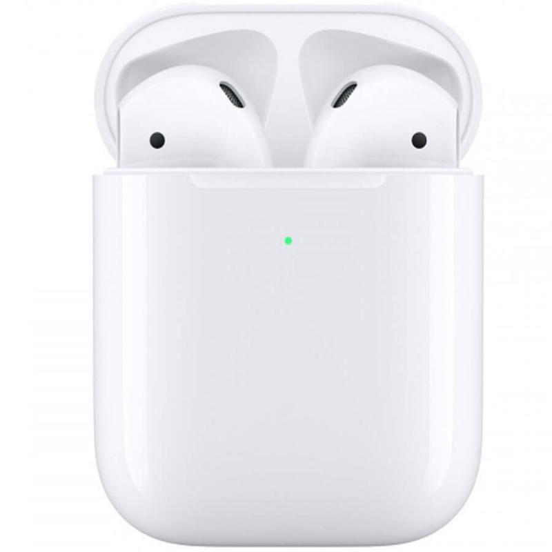 Беспроводные Bluetooth наушники Apple AirPods 2 with Wireless Charging Case (MRXJ2)