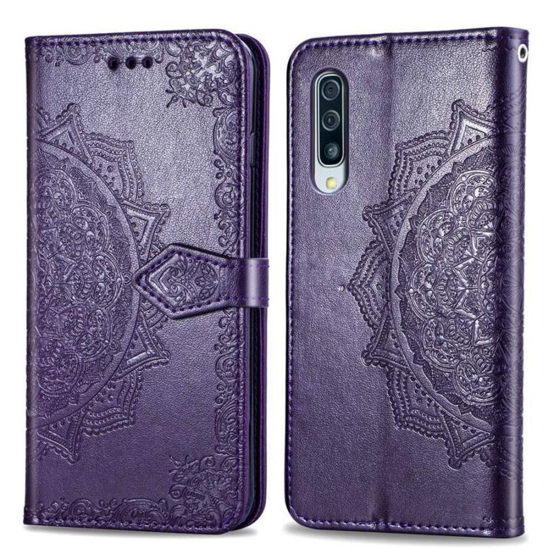 Кожаный чехол (книжка) Art Case с визитницей для Samsung Galaxy A50 (A505F) / A50s / A30s