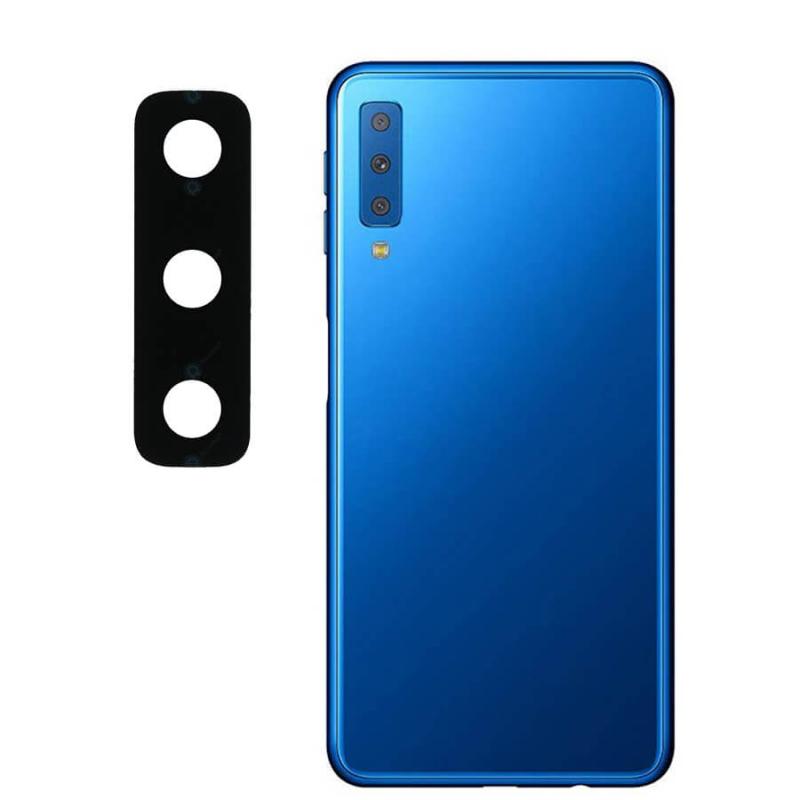 Гибкое ультратонкое стекло Epic на камеру для Samsung A750 Galaxy A7 (2018)