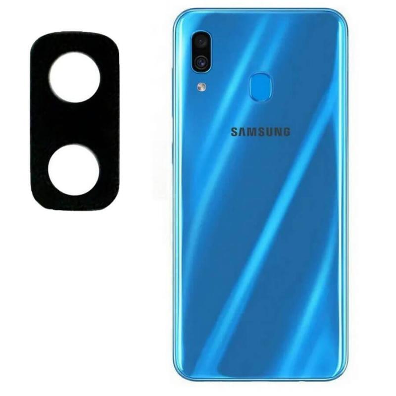 Гибкое ультратонкое стекло Epic на камеру для Samsung A20 / A30