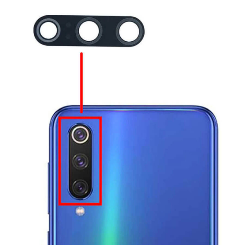 Гибкое ультратонкое стекло Epic на камеру для Xiaomi Mi 9