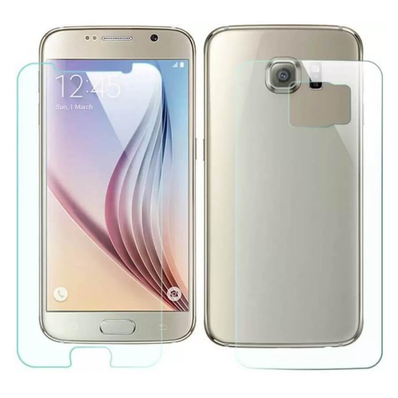 Бронированная полиуретановая пленка (на обе стороны) для Samsung G925F Galaxy S6 Edge