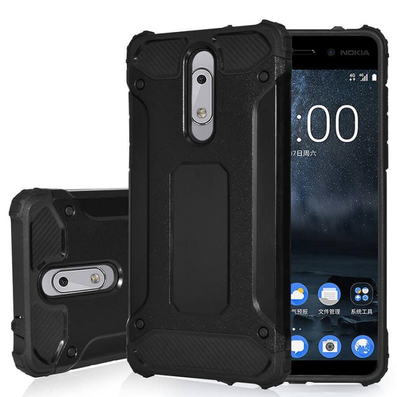 Бронированный противоударный TPU+PC чехол Immortal для Nokia 1