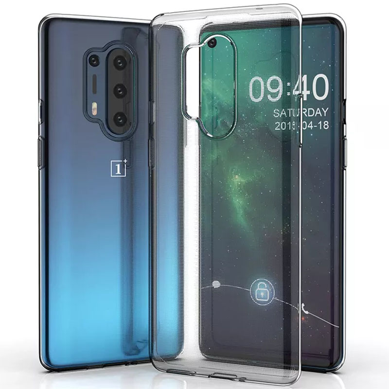 TPU чехол Epic Transparent 1,0mm для OnePlus 8 Pro