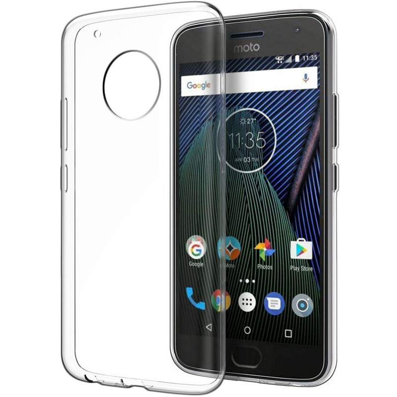TPU чехол Epic Transparent 1,0mm для Motorola Moto G6 Plus