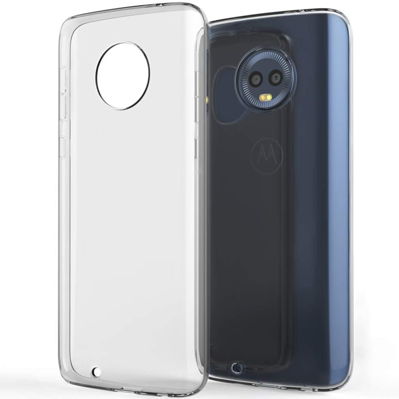 TPU чехол Epic Transparent 1,0mm для Motorola Moto G6