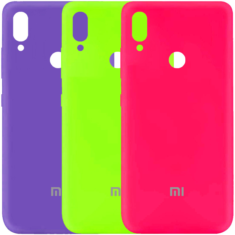 Чехол Silicone Cover My Color Full Protective (A) для Xiaomi Redmi Note 7 / Note 7 Pro / Note 7s