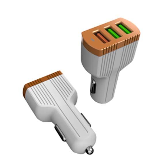 АЗУ LDNIO C702Q (2+1 USB QC3.0 Fast Charging +кабель MicroUSB)