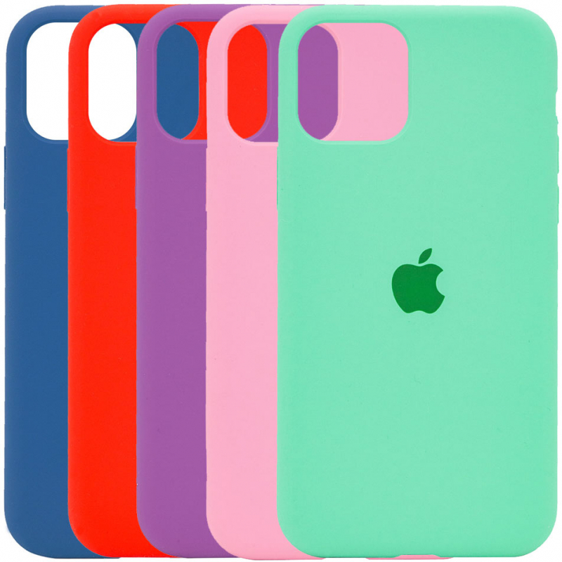 "Чехол Silicone Case Full Protective (AA) для Apple iPhone 12 Pro Max (6.7"")"