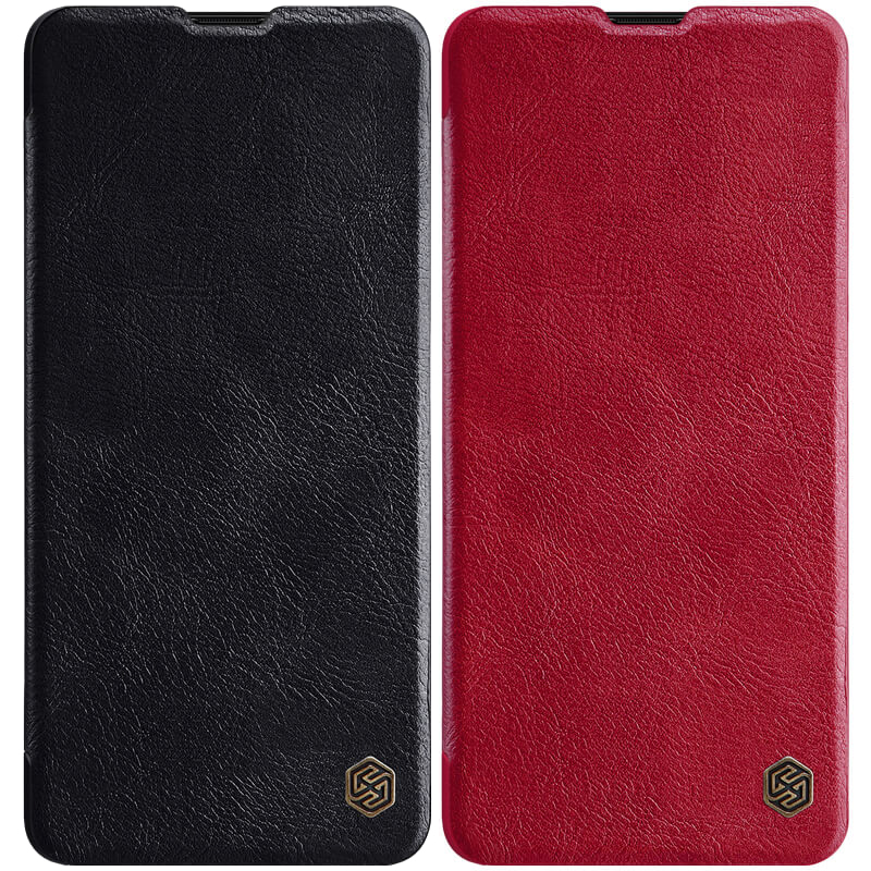 Кожаный чехол (книжка) Nillkin Qin Series для Samsung Galaxy A71