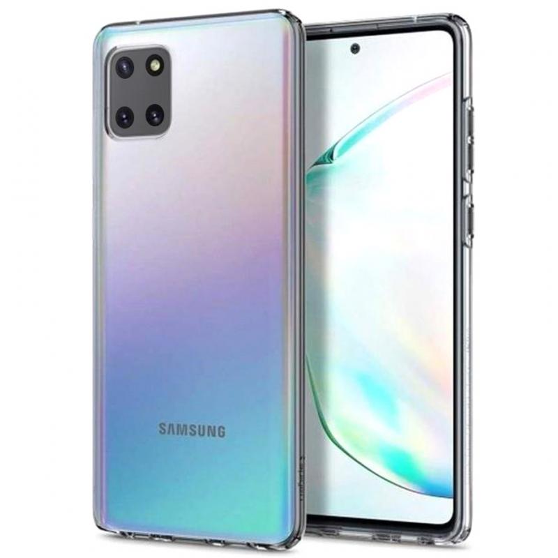 TPU чехол Epic Premium Transparent для Samsung Galaxy Note 10 Lite (A81)