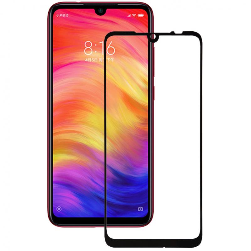 Защитное стекло 3D 9H (full glue) (тех.пак) для Xiaomi Redmi Note 7 / Note 7 Pro / Note 7s