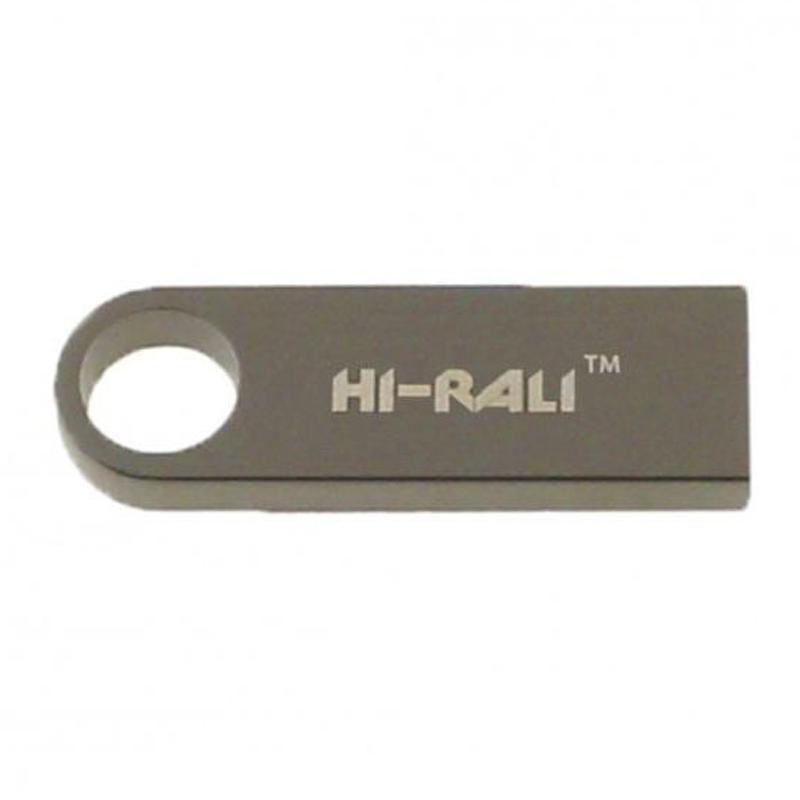 Флеш накопитель USB Hi-Rali Shuttle 32 GB Серебряная серия
