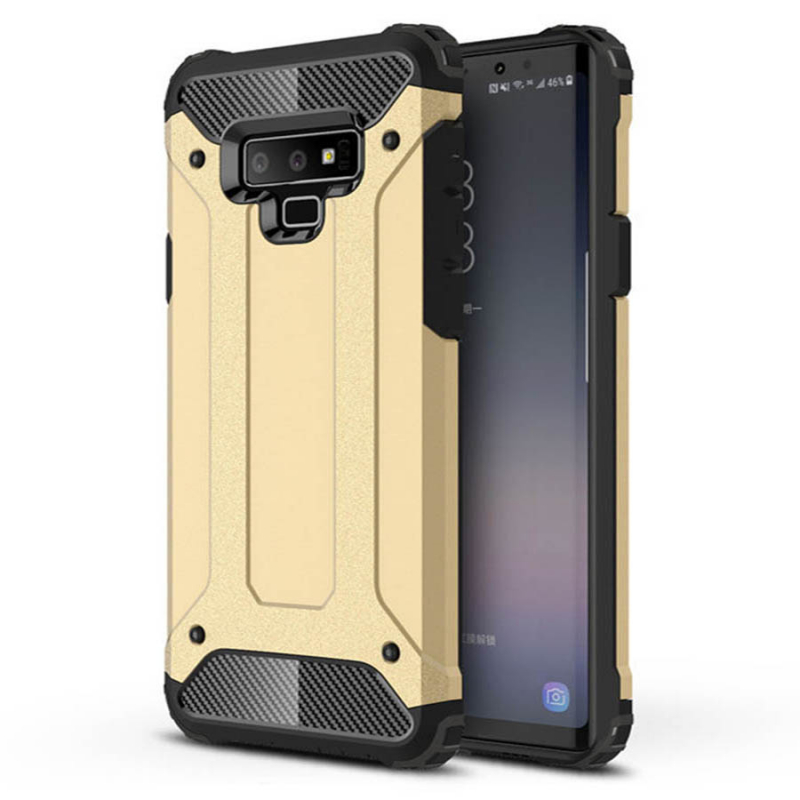 Бронированный противоударный TPU+PC чехол Immortal для Samsung Galaxy Note 10