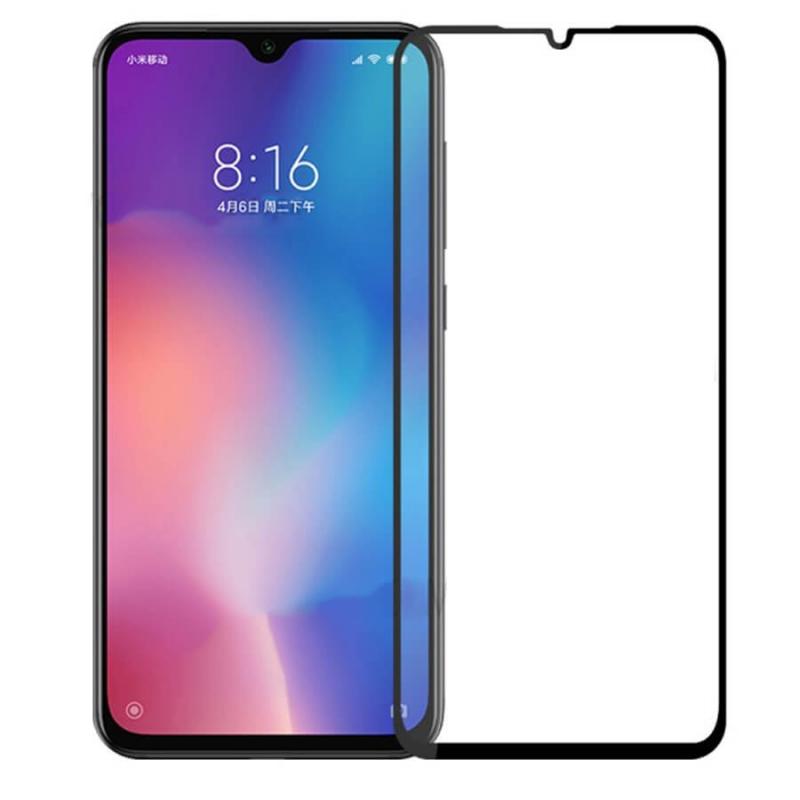 Защитное стекло 3D 9H (full glue) (без упаковки) для Xiaomi Mi 9 SE