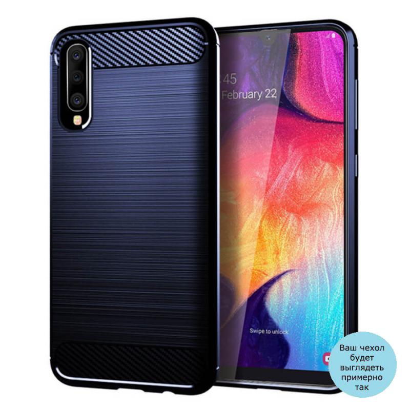 TPU чехол iPaky Slim Series для Samsung Galaxy A80 / A90