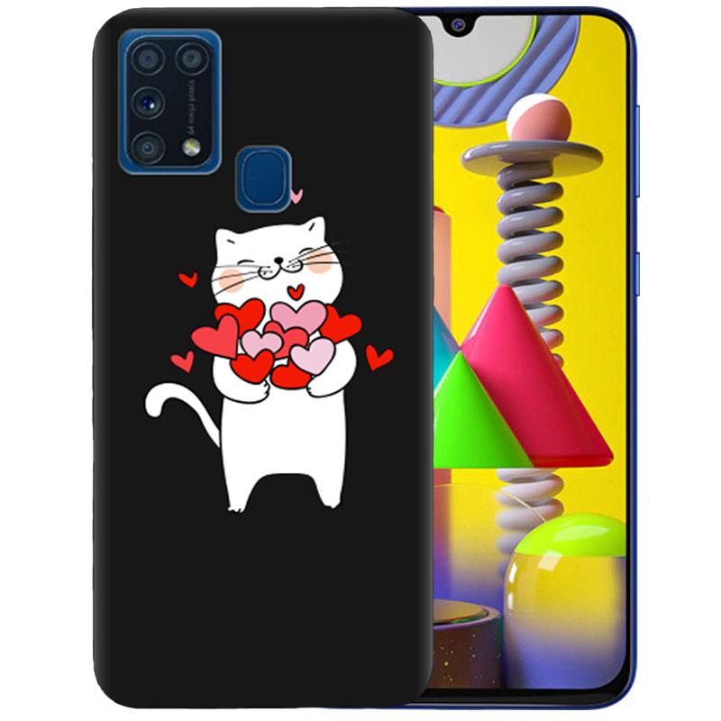 Чехол Cat In Love для Samsung Galaxy M31
