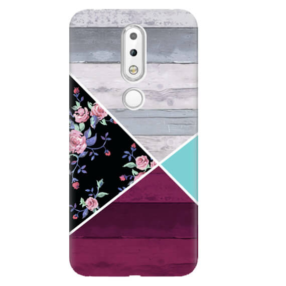 Чехол Collage для Nokia 6.1 Plus (Nokia X6)