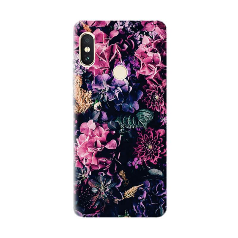 Чехол Flowers Explosion для Xiaomi Redmi Note 5 Pro / Note 5 (DC)