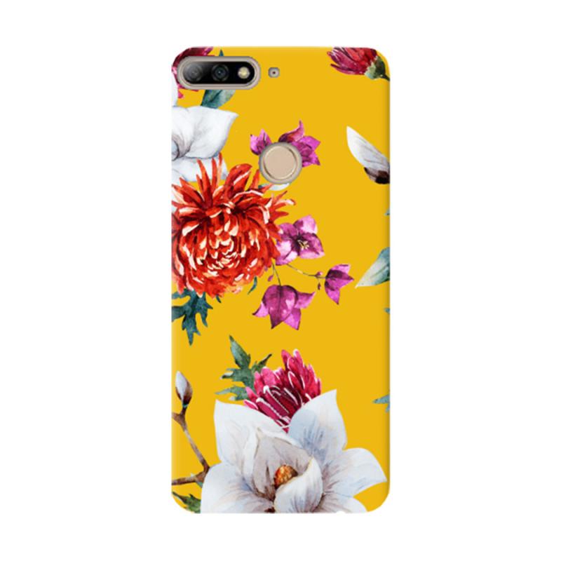 Чехол Flowers On The Sun для Huawei Y7 Prime (2018)