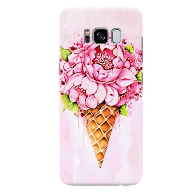 Чехол Ice Cream Flowers для Samsung Galaxy S8