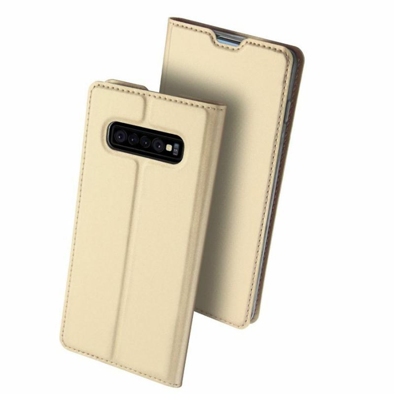 Чехол-книжка Dux Ducis с карманом для визиток для Samsung Galaxy S10