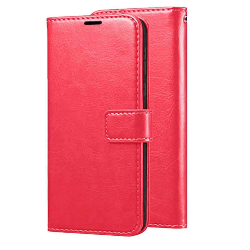 Чехол (книжка) Wallet Glossy с визитницей для Xiaomi Redmi 4X