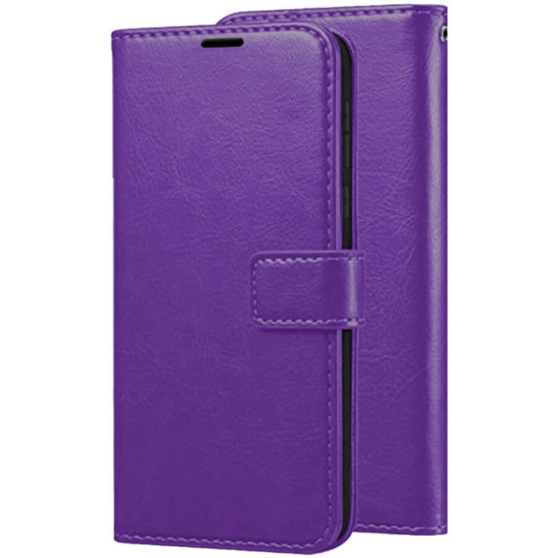 Чехол (книжка) Wallet Glossy с визитницей для Xiaomi Redmi Note 6 Pro