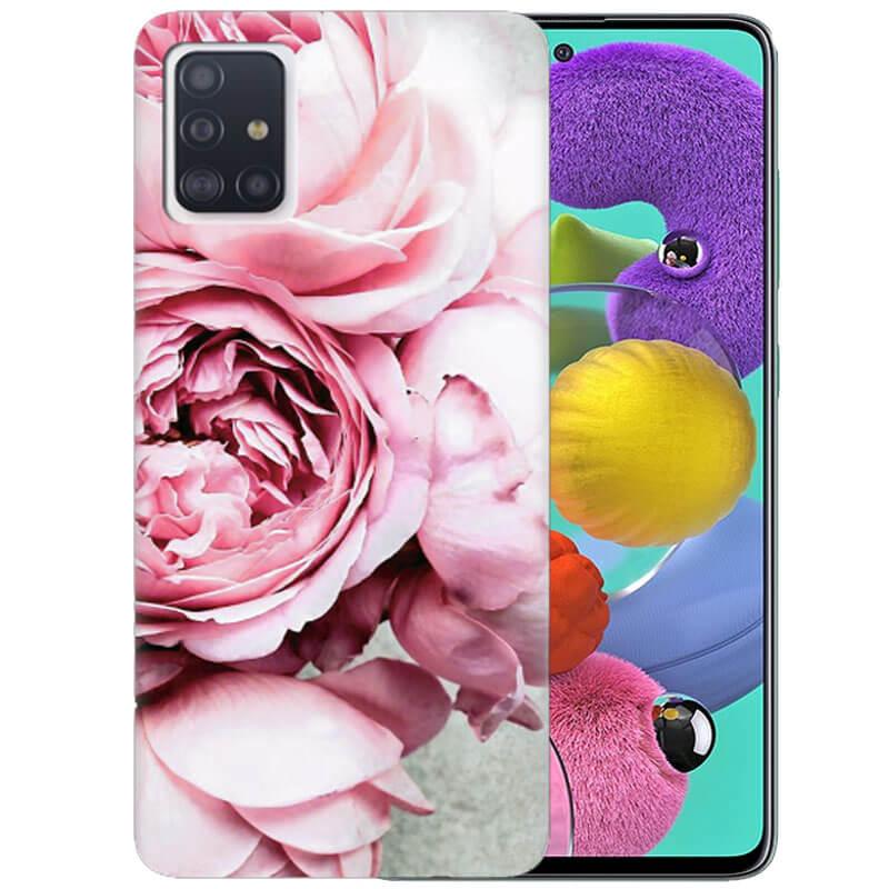 Чехол Peony Flowers для Samsung Galaxy A51