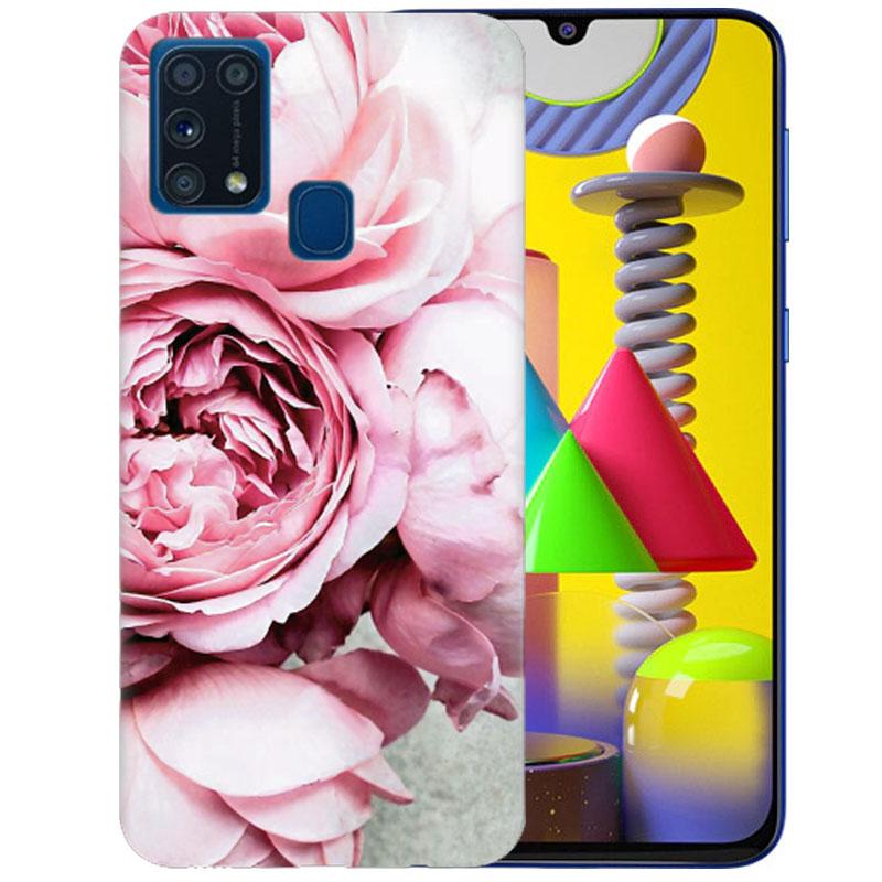 Чехол Peony Flowers для Samsung Galaxy M31