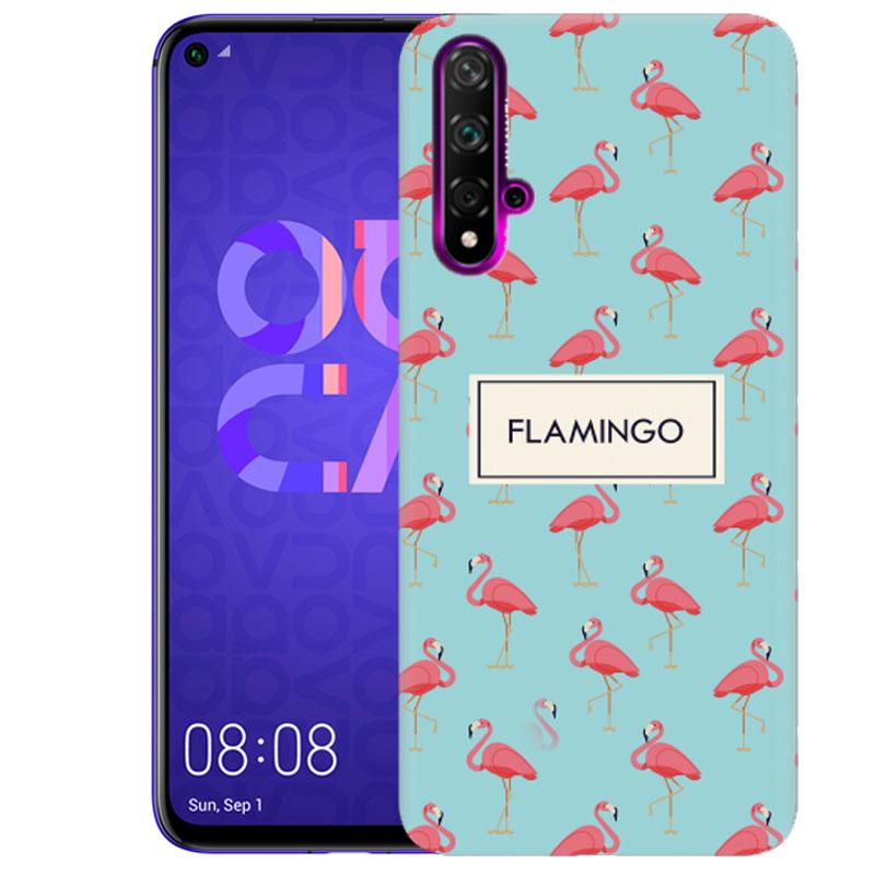 Чехол Pink Flamingo для Huawei Honor 20 / Nova 5T