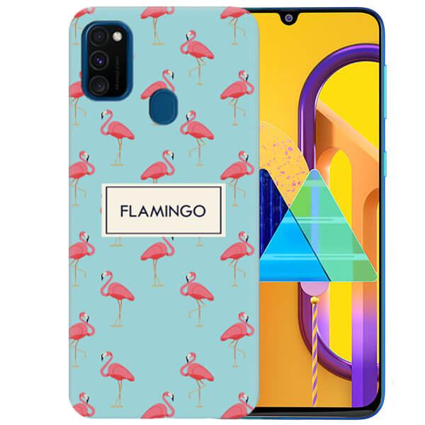 Чехол Pink Flamingo для Samsung Galaxy M30s
