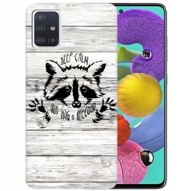 Чехол Raccoon Wants To Hug для Samsung Galaxy A51