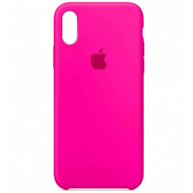"Чехол Silicone case (A) для Apple iPhone XR (6.1"")"