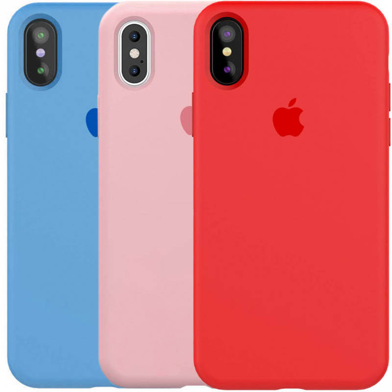 "Чехол Silicone Case Full Protective (AA) для Apple iPhone XR (6.1"")"