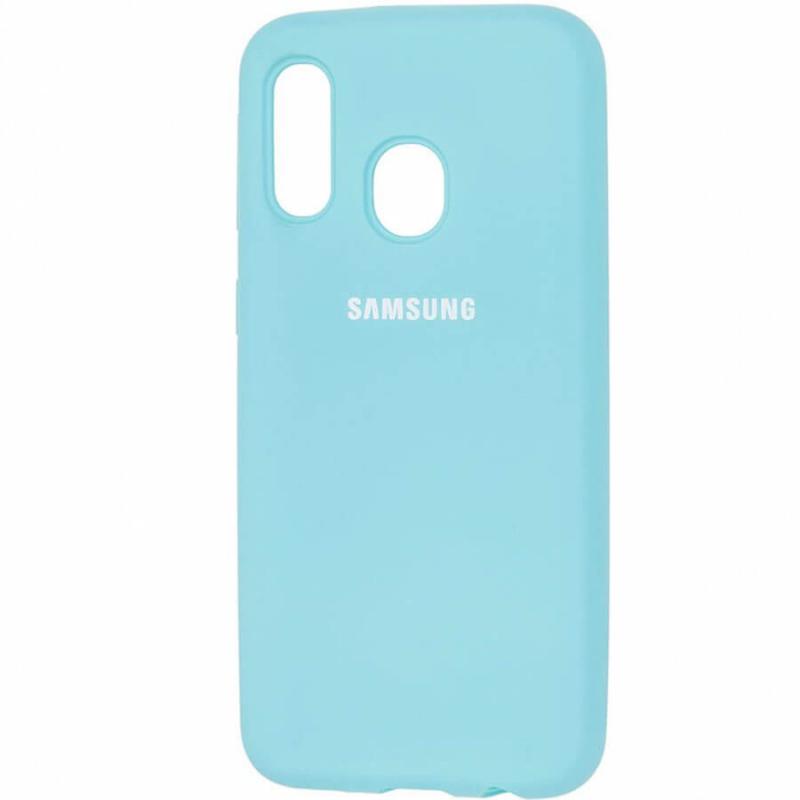 Чехол Silicone case для Samsung Galaxy A40 (A405F)
