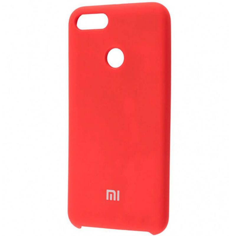 Чехол Silicone case для Xiaomi Mi 8 Lite / Mi 8 Youth (Mi 8X)
