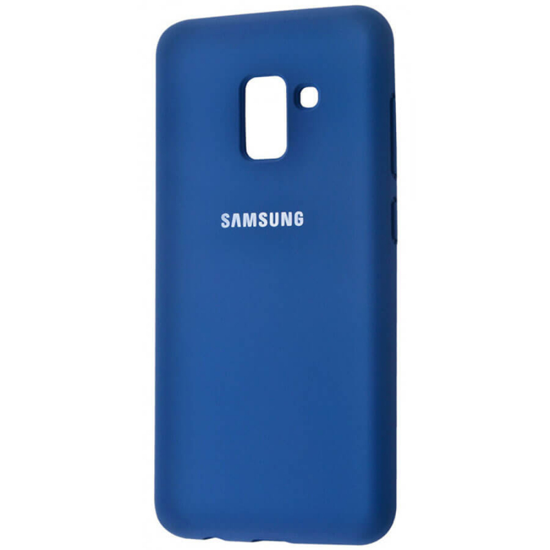 Чехол Silicone Cover Full Protective (AA) для Samsung A530 Galaxy A8 (2018)